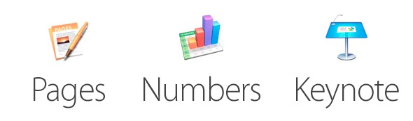 Logo pages numbers keynote